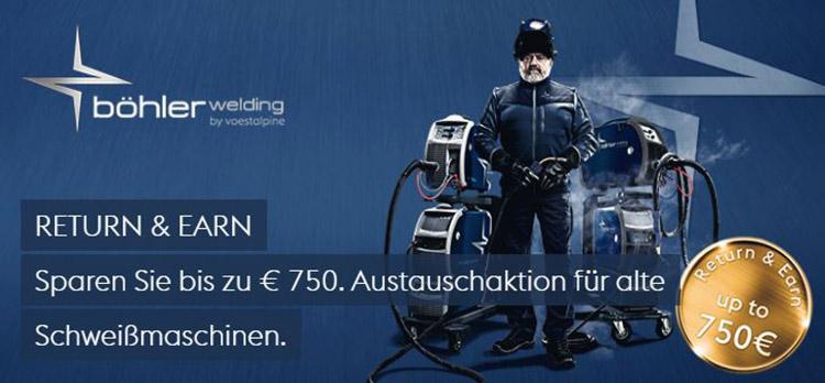VOESTALPINE BÖHLER WELDING - RETURN & EARN