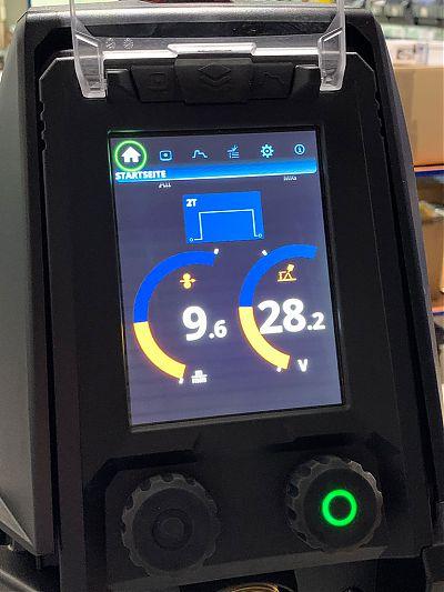 Display KEMPPI X5 FastMig 400 Auto wassergekühlt