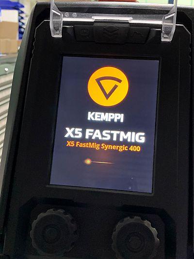 Bedienpanel KEMPPI X5 FastMig 400 Auto wassergekühlt