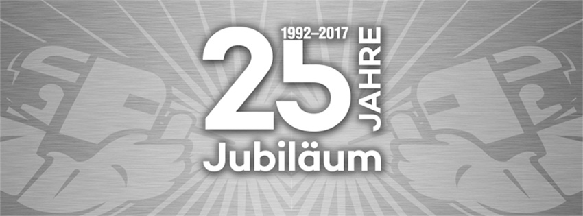 25-jähriges Firmenjubiläum