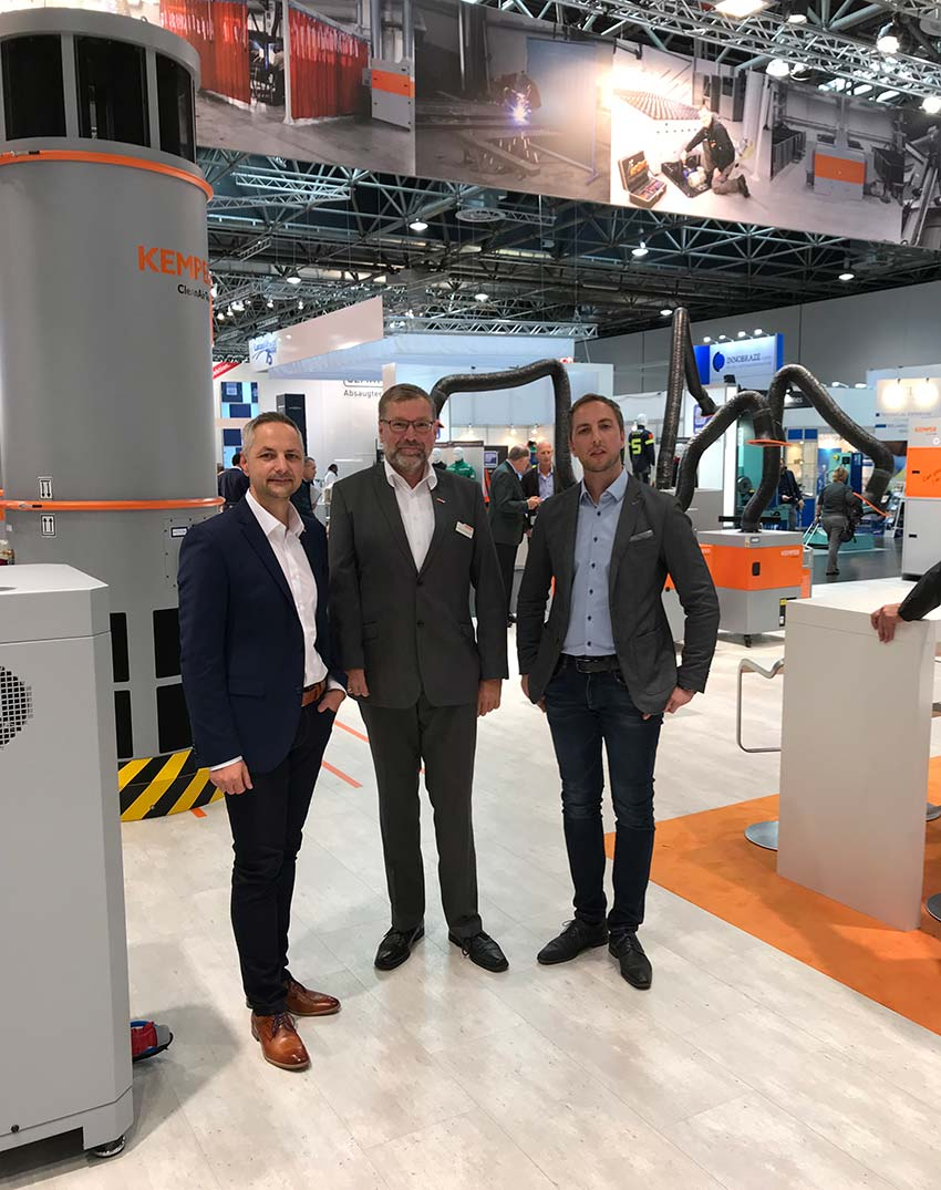 Besuch am Stand unseres Partners KEMPER GmbH