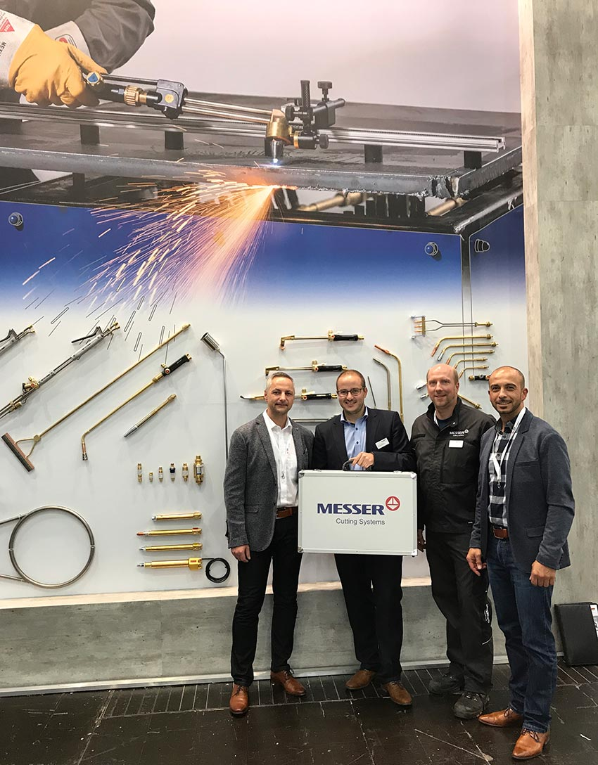 Am Messer Cutting-Systems Stand