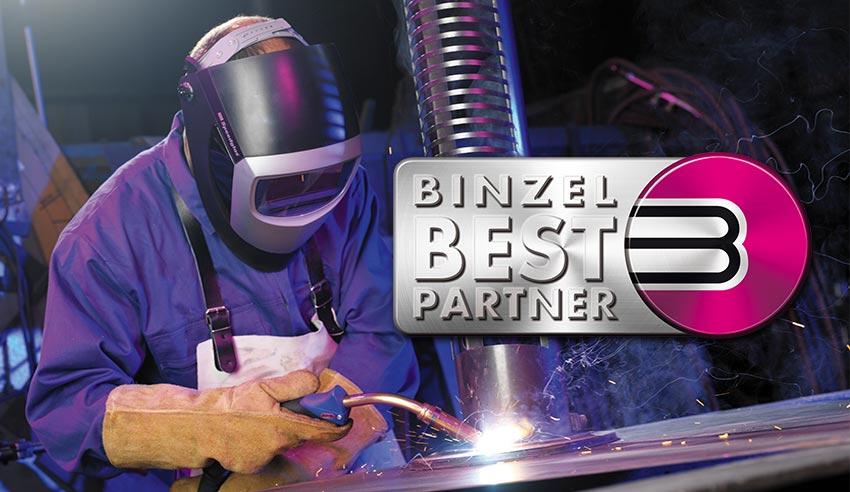 Auszeichnung zum Binzel Best Partner