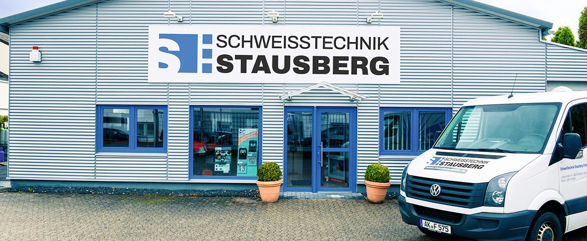 Gebäudeansicht der Schweißtechnik Stausberg GmbH in Mülheim-Kärlich